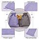 黄麻布ラッピングポーチ巾着袋ABAG-PH0002-24-7