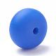 Abalorios de silicona ambiental de grado alimenticioSIL-Q001B-34-1