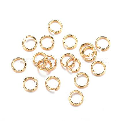 304 Stainless Steel Jump Rings STAS-F084-28G-1
