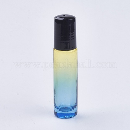 Botellas vacías de bolas de rodillo de aceite esencial de color degradado de vidrio de 10 mlMRMJ-WH0011-B06-10ml-1