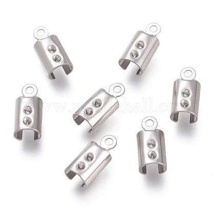 Extremos plegables de 304 acero inoxidable engarzadoSTAS-O130-03D-1