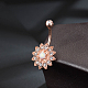 Brass Piercing JewelryAJEW-EE0006-83-3