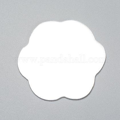 Flower Shape MirrorDIY-WH0170-53-1