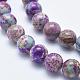 Natural Imperial Jasper Beads StrandsG-I122-6mm-15-3
