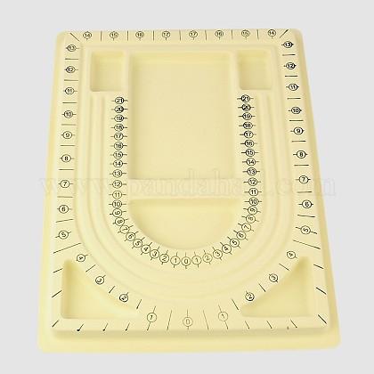 Panneaux en plastique de conception de perlesTOOL-E004-01-1