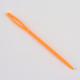 Circular de acero inoxidable agujas de tejer de alambre de acero y plástico de color al azar agujas de tapiceríaTOOL-R042-650x1.5mm-4