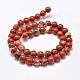 Natural Red Jasper Beads StrandsX-G-F348-02-4mm-2