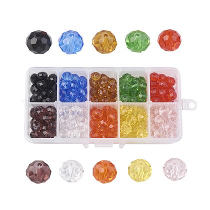 10 Colors Handmade Glass BeadsGLAA-JP0002-03-1