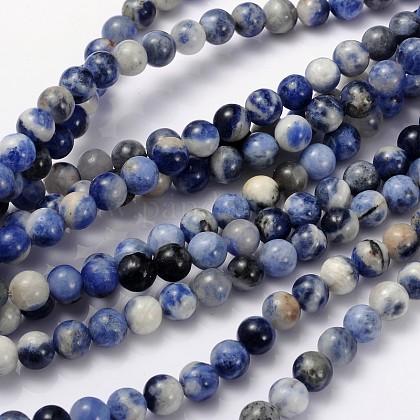 Hilo de perlas de sodalita naturalGSR8mmC013-1