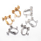 Brass Clip-on Earring FindingsX-KK-G287-M-LF-1