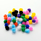 DIY Doll Craft Pom Pom Yarn Pom Pom Balls X-AJEW-S006-25mm-M