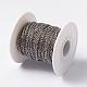 Placas de vacío 304 cadenas de cable de acero inoxidableCHS-L014-08P-2