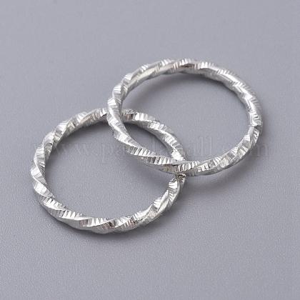 鉄の織り目加工の丸カンIFIN-D086-05-S-1