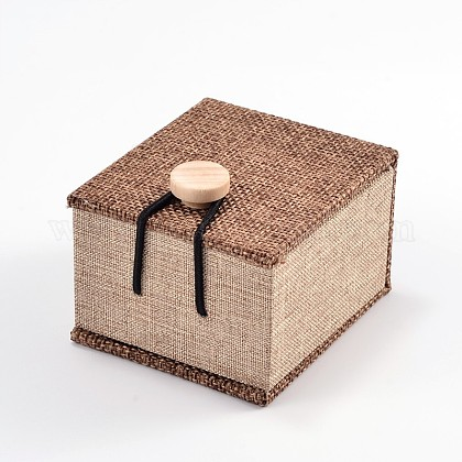 Rectangle Wooden Ring BoxesOBOX-N013-02-1