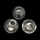 Round Handmade Blown Glass Globe BeadsBLOW-R002-16mm-1
