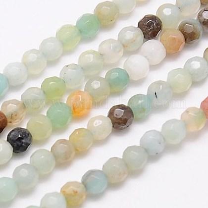 Natural Amazonite Beads StrandsG-G545-06-1