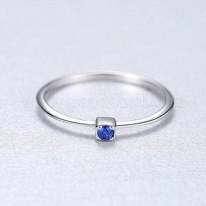 Anillos de dedo de plata 925 esterlinaRJEW-BB35561-9P-D-1