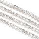Cadenas de strass Diamante de imitación de bronceCHC-T001-SS8-01S-3