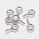 304 Stainless Steel Screw Eye Pin Peg BailsSTAS-I097-077E-1