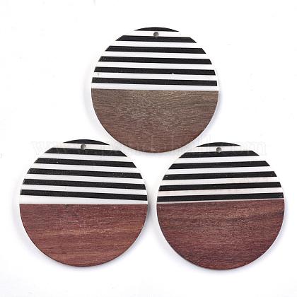 Colgantes de resina & maderaRESI-T023-24A-1