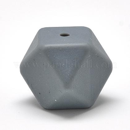 Abalorios de silicona ambiental de grado alimenticioSIL-Q009A-15-1