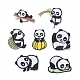 Cute Panda Computerized Embroidery Cloth Iron on/Sew on Patches DIY-X0293-71-1