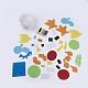 Handmade Non Woven Fabric Marine Organism SetDIY-SCT000Z-09-1