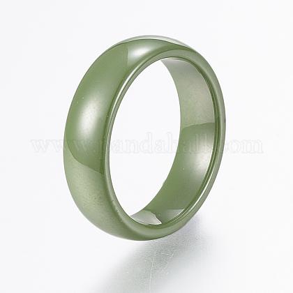 Handmade Porcelain Wide Band RingsRJEW-H121-21C-19mm-1