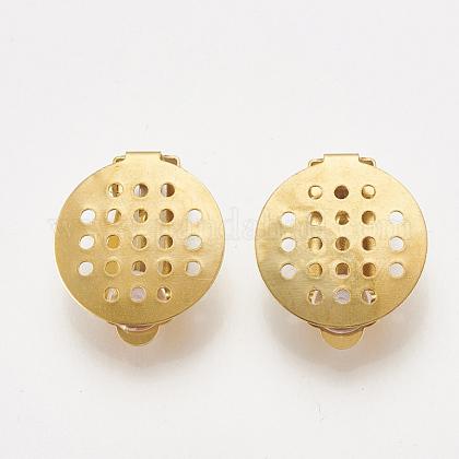 304 Stainless Steel Clip-on Earring FindingsSTAS-S104-01B-1