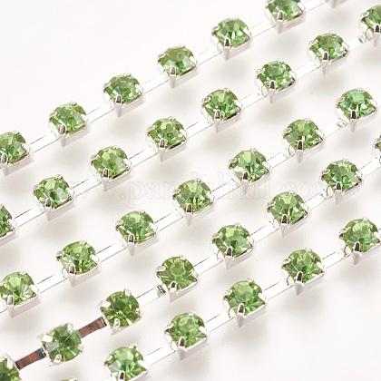 Cadenas de strass Diamante de imitación de bronceCHC-S16-02S-1