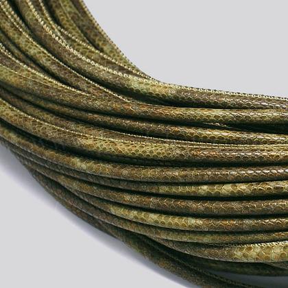 Cordones de cuero de PULC-E003-04-1