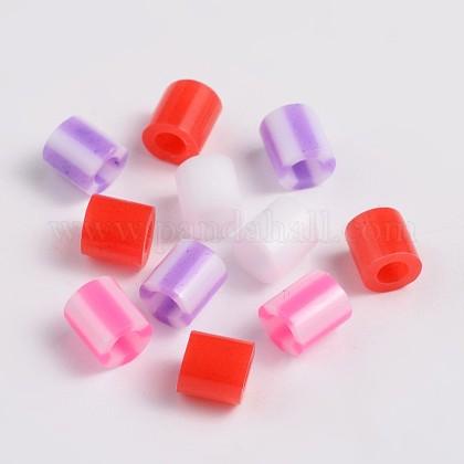 Смешанный тип трубки PE поделки плавкие шарики заправокDIY-X0251-03-1