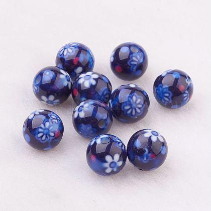 Rociar perlas de resina pintadasGLAA-F049-A10-1