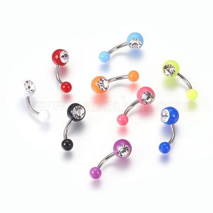 Acrylic Body JewelryAJEW-P071-H-1