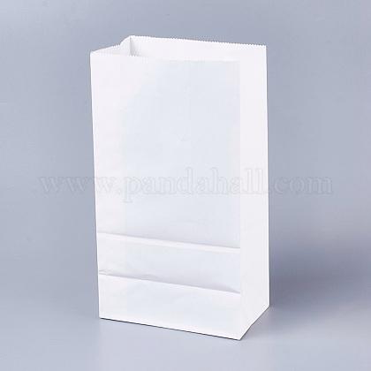 Sac en papier kraft de couleur pureCARB-WH0008-13-1