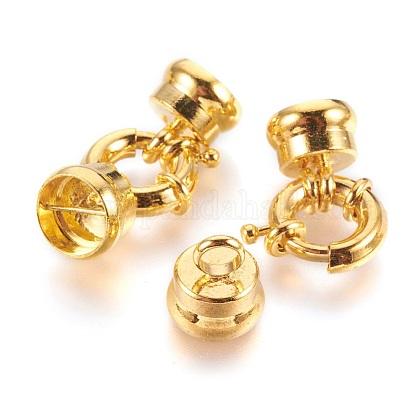Conjuntos de cierres de anillo de resorte de latónX-KK-N0036-G-1