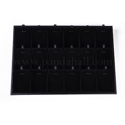 Cajas de presentación pendiente de maderaPDIS-O003-01-1