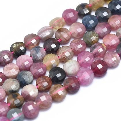 Natural Tourmaline Beads StrandsG-E530-07H-1