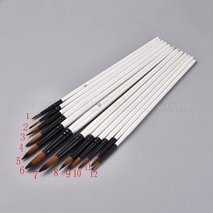 Набор кистей для деревянной ручкиTOOL-L006-04-1