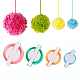 DIY Pom Pom Ball Maker DIY-PH0001-43-6
