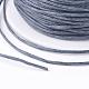 Cordones de hilo de algodón enceradoYC-R003-1.0mm-319-3