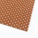 Polka Dot Pattern Printed Non Woven Fabric Embroidery Needle Felt for DIY CraftsDIY-R059-02-1