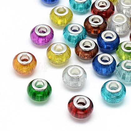 Abalorios de resina europeaRPDL-S008-M-1