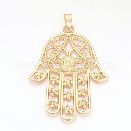 Alloy Big Pendants PALLOY-S099-08G-1