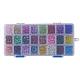 Spray Painted Crackle Glass BeadsCCG-PH0002-01-6mm-10