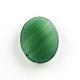 Природный зеленый агат драгоценный камень кабошоныG-R270-14-3