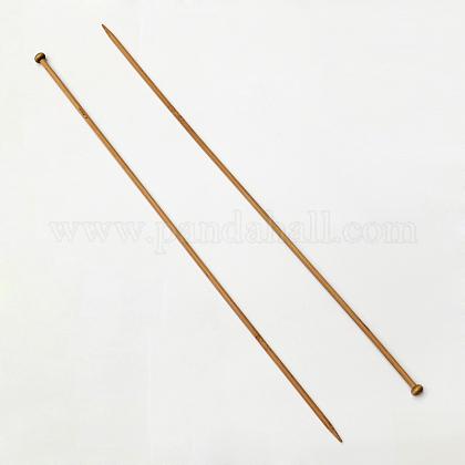 竹シングル尖った編み針TOOL-R054-6.0mm-1