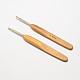 竹のハンドル鉄かぎ針編みのフック針TOOL-R034-M-2