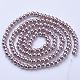 Glass Pearl Beads StrandsHY-6D-B27-1