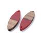 Colgantes de resina y madera de nogal de 6 coloresRESI-X0001-32-2